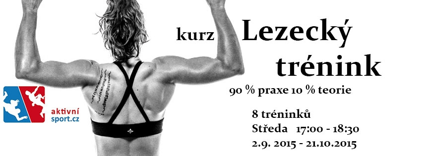 AktivniSport.cz - kurz lezecký trénink