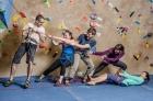 základní kurz - bezpečné lezení na umělé stěně
